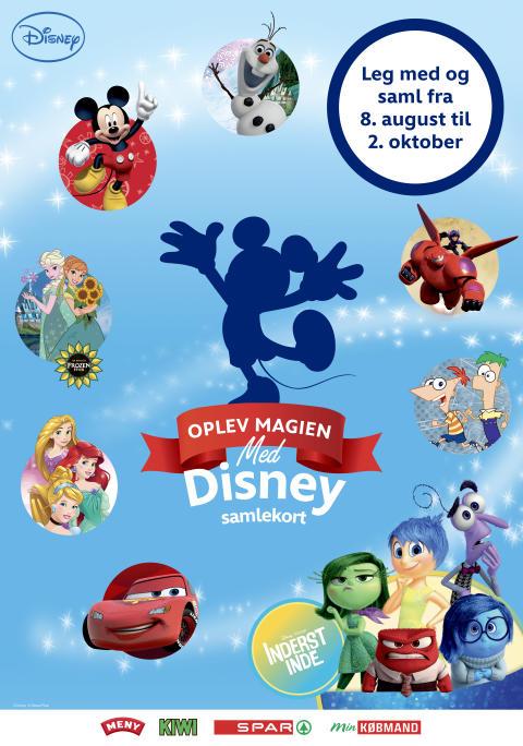 Ny serie samlekort fra Disney nu i Dagrofas dagligvarebutikker