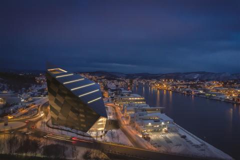 Enova-støtte til R8 og Powerhouse Telemark