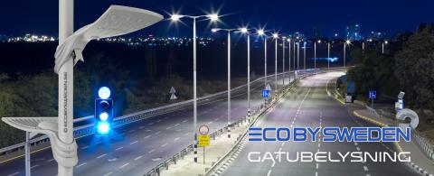 Specialdesignad gatubelysning i LED - Eco by Sweden