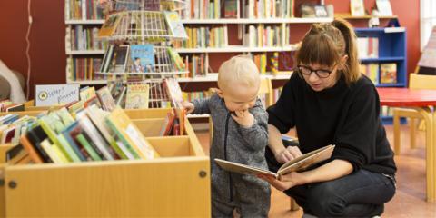 Språkstegen – unik satsning för barns språkutveckling och läsning
