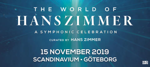 "​""The World of Hans Zimmer – A Symphonic Celebration"" framförs i Scandinavium nästa år"