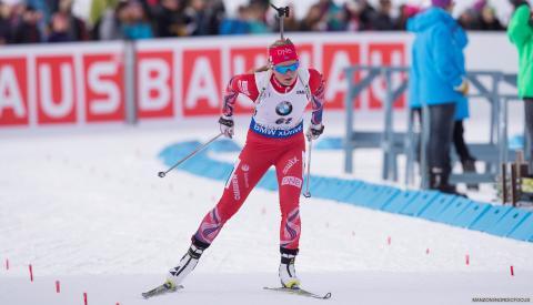 Kaia Wøien Nicolaisen, world cup Canmore, 2016
