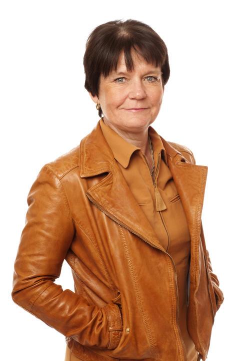 Karin Henriksson-Larsén, rektor vid Gymnastik- och idrottshögskolan, GIH