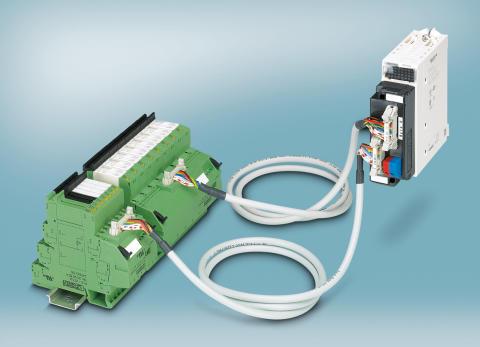 Systemkabling til Modicon M340 med 16 digitale I/O'er