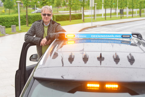 Kjører 9500 km for å teste mobildekning