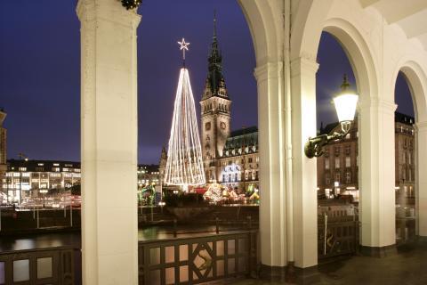 Upplev en julsaga i Hamburg