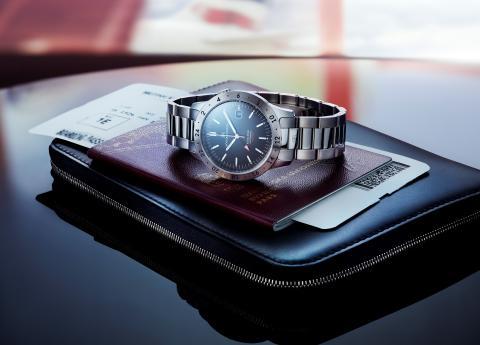 Sjöö Sandström lanserar ny exklusiv klocka, Royal Steel Worldtimer