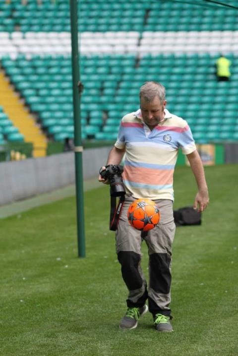 Flash, bang, wallop as Paisley man captures caring side of Scottish football