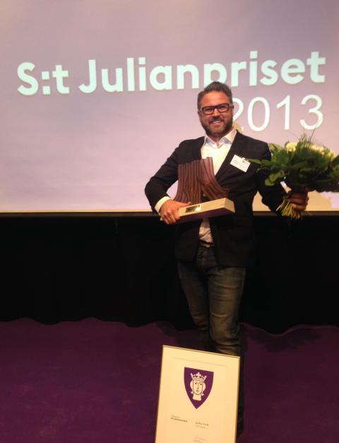 Gröna Lund vann S:t Julianpriset