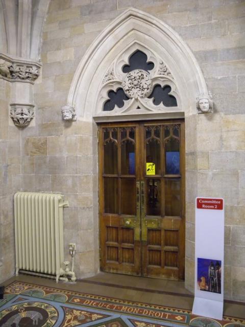 Door in Rochdale Town Hall