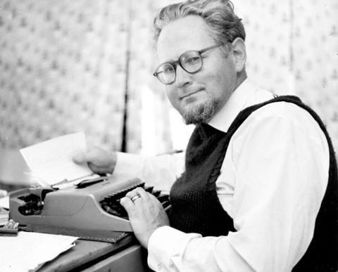 Föreläsning om Helmer Linderholms liv och författarskap