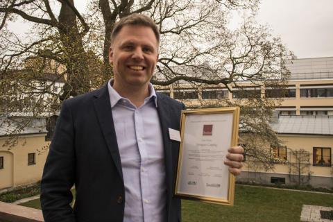 Jonas Olsson vinnare Årtes Turistentreprenör