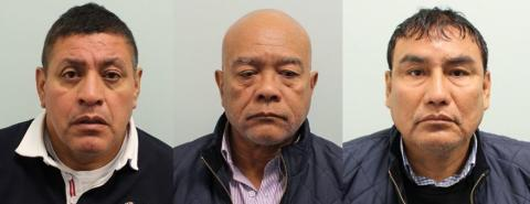 Three men who have been jailed