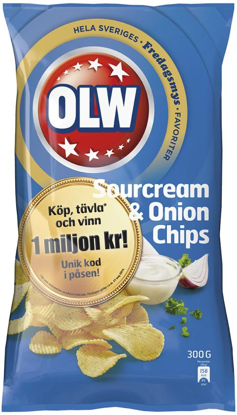 Sour Cream & onion miljon