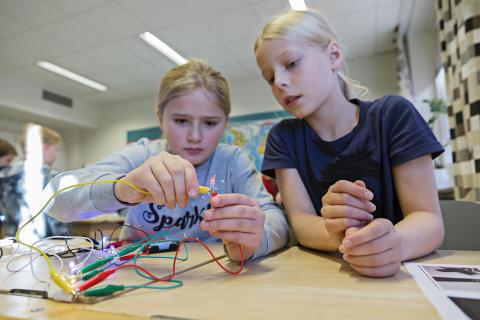 Tekniska museet inspirerar unga skolelever på USA-turné