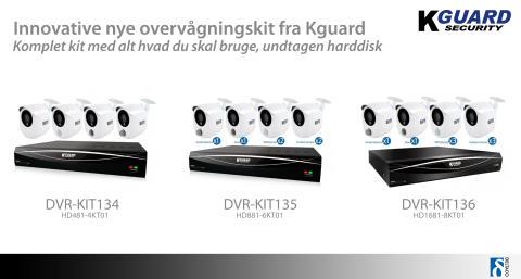Innovative nye overvågningskit fra Kguard