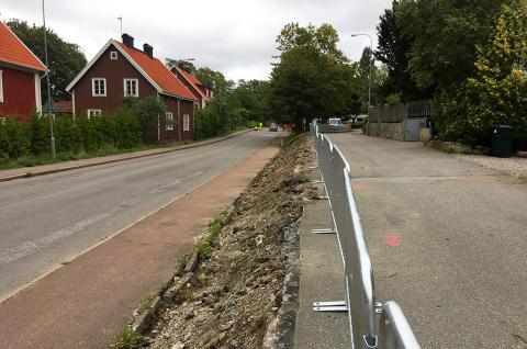 Skandinaviska Områdesskydd bygger bullerskydd åt Göteborgs Stad