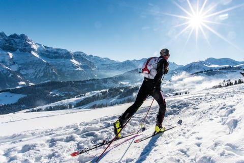 Skitourenpark Rando Morgins im Wallis