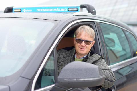 Dekningsdirektør Bjørn Amundsen.bil