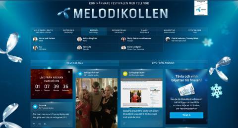 Krista skräller i sociala medier inför andra deltävlingen