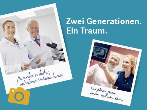 Gewinnspiel: Zwei Generationen. Ein Traum.