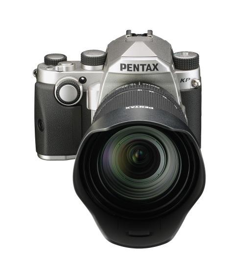 Pentax KP sølv med 16-85mm