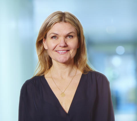 Mia Olsson Broander, kommunikatör hos Bostads AB Poseidon i Göteborg