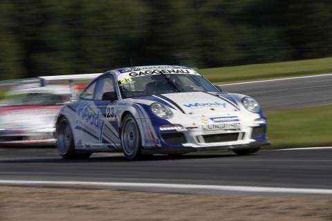Marginalerna inte på Nilssons sida i Porsche Carrera Cup
