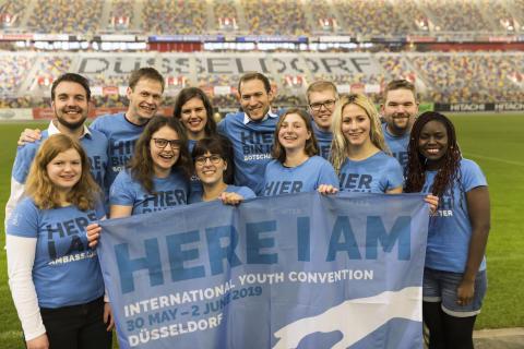 Ankündigung: Internationaler Jugendtag vom 30. Mai bis 2. Juni 2019 in Düsseldorf