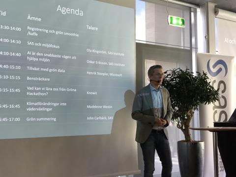 Inspirerande miljövecka på SAS Sverige