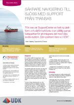 Säkrare navigering till sjöss med support från Transas