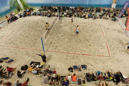Årets sista Beachvolley uppvisning!