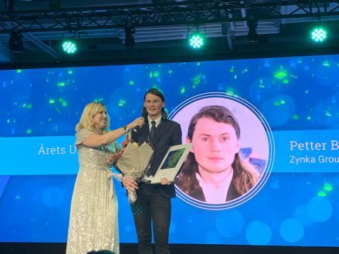 Petter Bengtsson vinnare av Årets Unga VD 2019