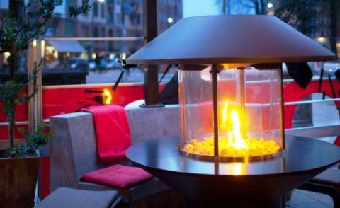 Förläng utomhussäsongen med gasdriven infravärme