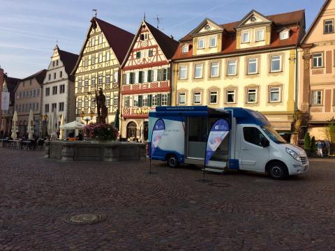 Beratungsmobil der Unabhängigen Patientenberatung kommt am 14. Januar nach Bad Mergentheim.
