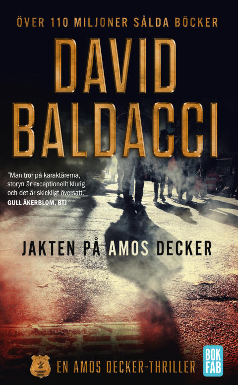 Jakten på Amos Decker, pocket av David Baldacci