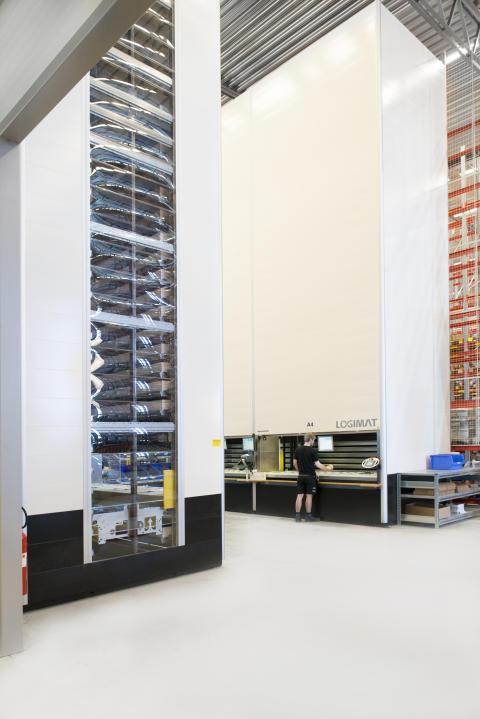 Lagerautomat LogiMat hos Grene Sverige