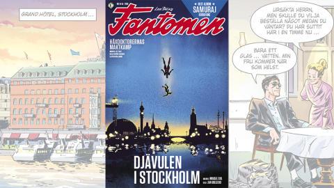 Utanförskap och psykisk ohälsa i fokus när Fantomen kommer till Stockholm