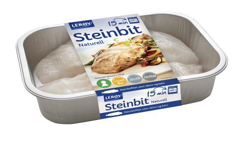 Steinbit naturell - rett i ovnen