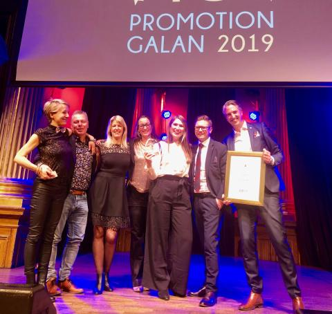 """De vann Årets Kampanj med: """"En tröja för ett stolt Malmö"""""""