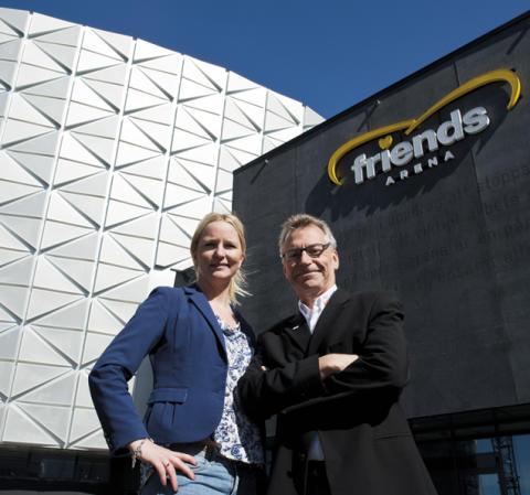 Autoexperten utvidgar egna verkstadsmässan – fyller Friends Arena i januari 2015.
