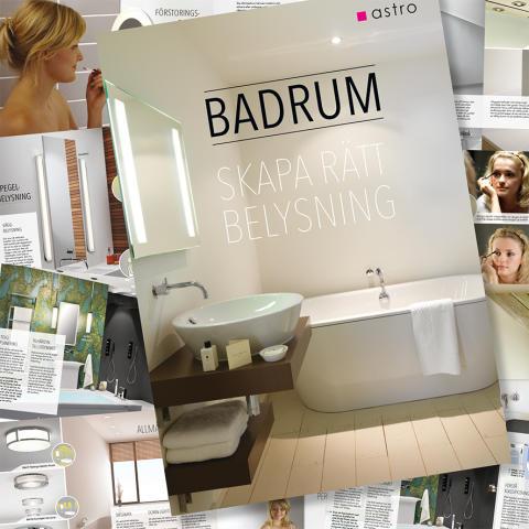 Skapa rätt ljus i badrummet