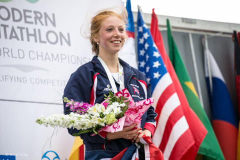 Sun shines on Summers after she wins two world titles in a week