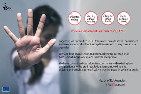EU Agencies unite against harassment on International Women's Day
