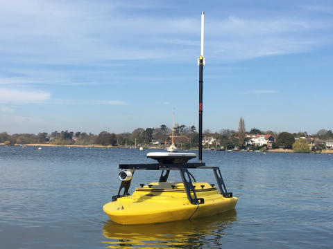KONGSBERG introduces new GeoPulse USV featuring state-of-the-art sub-bottom profiler