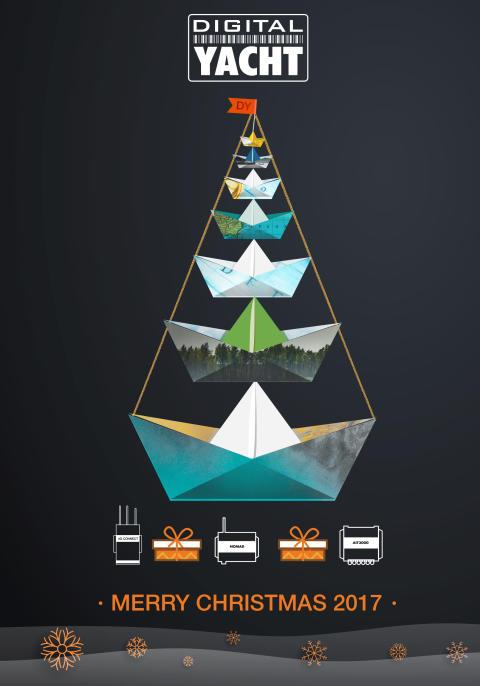 Digital Yacht 2018 Euro Pricing & Christmas Holiday Greetings