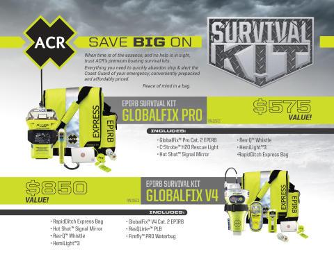 Image - ACR Electronics - ACR Electronics Survival Kits