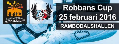 På sportlovet hålls den 17:e Robbans Cup i Norrköping