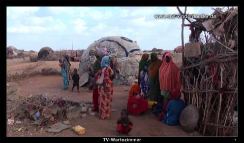 SOS-Projektarbeit im Arzt-Wartezimmer