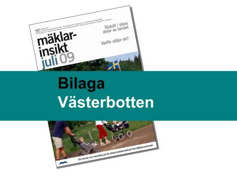 Västerbottens län: Stabil bostadsmarknad i Västerbotten